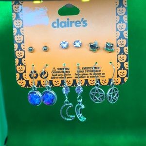 🌕NEW🌕 CLAIRE'S Halloween earrings 🌕6 pairs